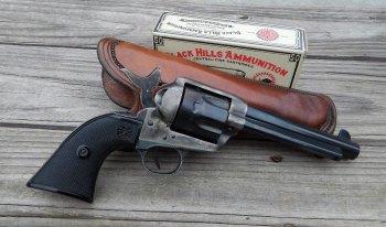 5.5-inch barreled Colt revolver