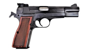 Browning Hi Power pistol right profile