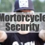 バイクの防犯グッズ
