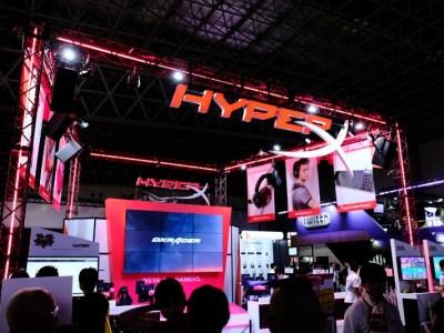【東京ゲームショー2018】HyperXブースを徹底リポート!