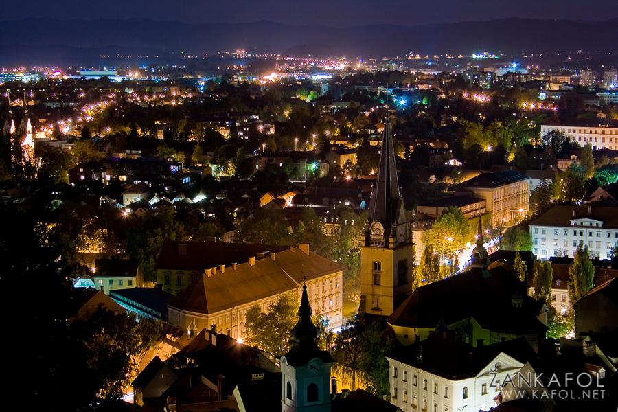 Ljubljana ponoči