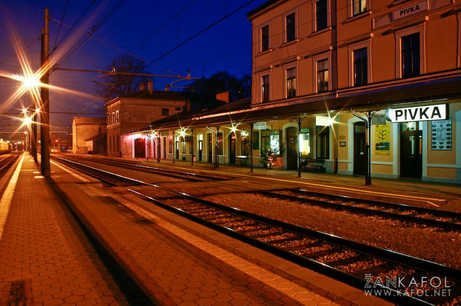 Železniška postaja Pivka