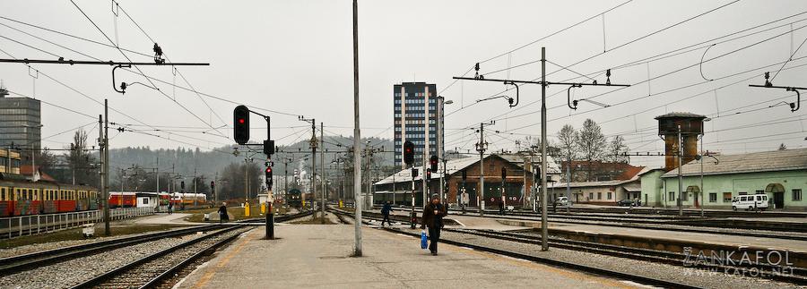 Železniška postaja Ljubljana