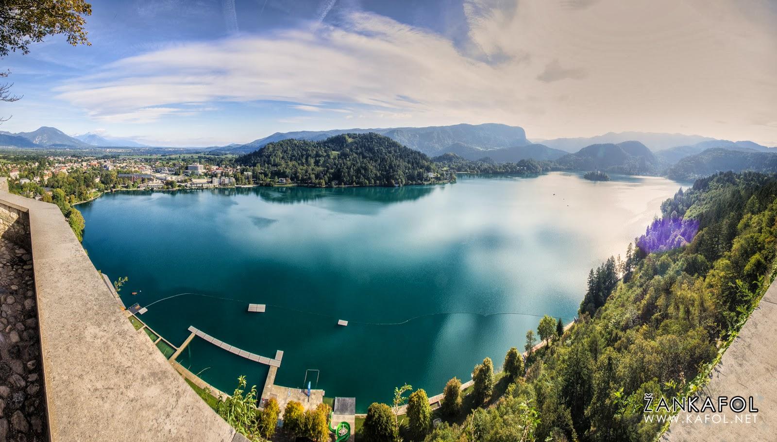 Blejsko jezero - panorama