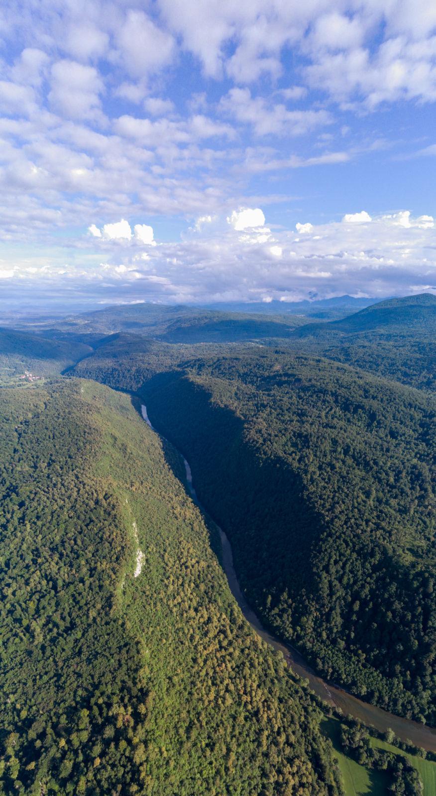 Vrezana dolina reke Kolpe