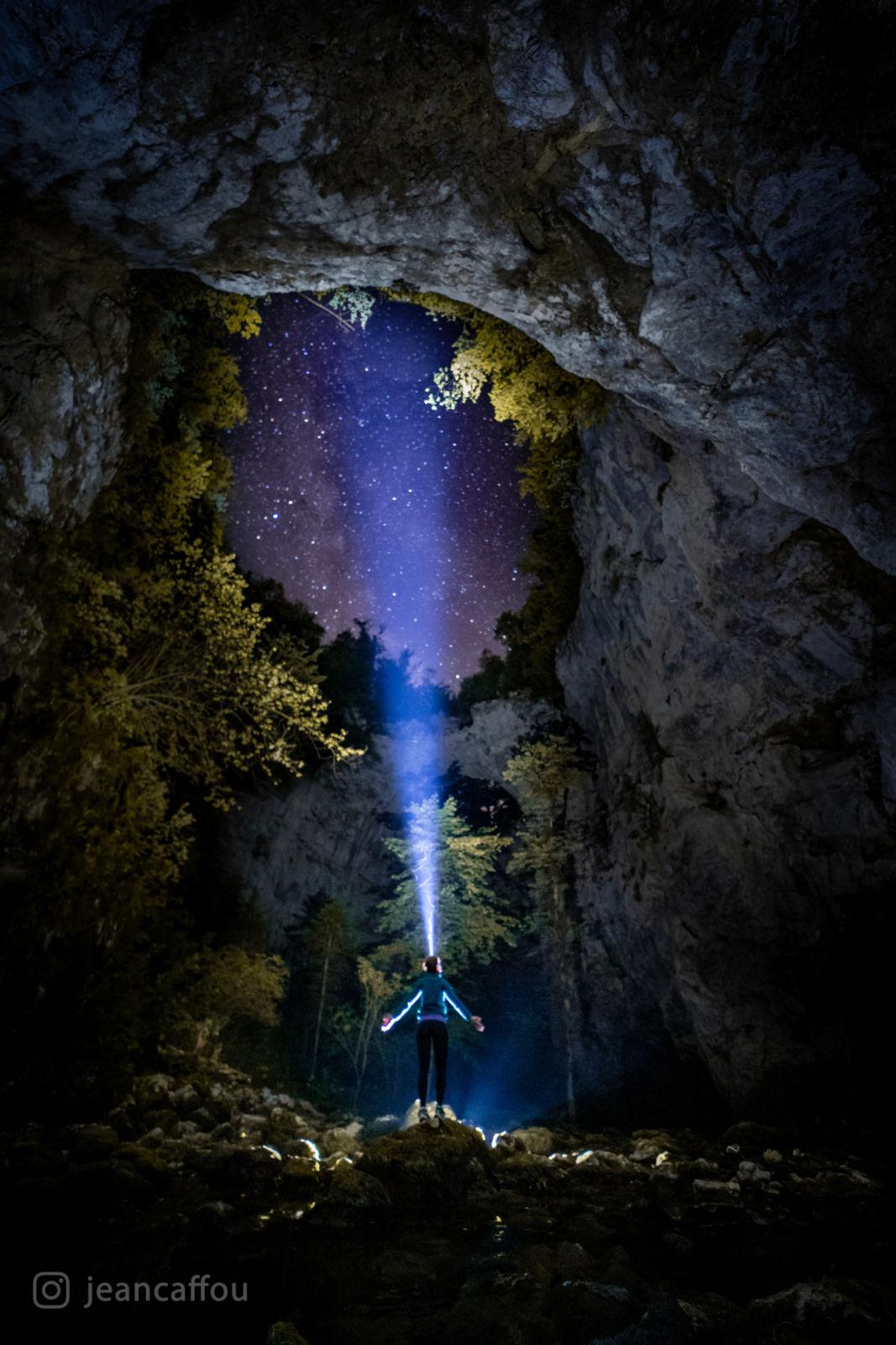 Rakov Škocjan - Mlečna cesta - razsvetljenje