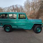 A Willys Wagon Used Since 1961 In Nantucket And Still A Crowd Attraction To This Day