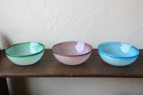 ガラス工房清天 小鉢