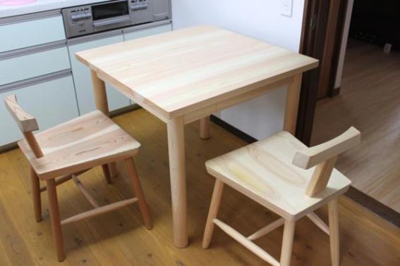 ワシタカ工藝 テーブル
