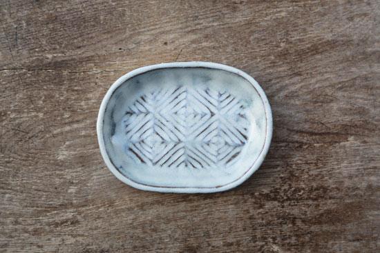坂西康俊 楕円皿