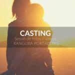 Casting. Sessió de fotos / vídeos de porteig Kangura Portabebés