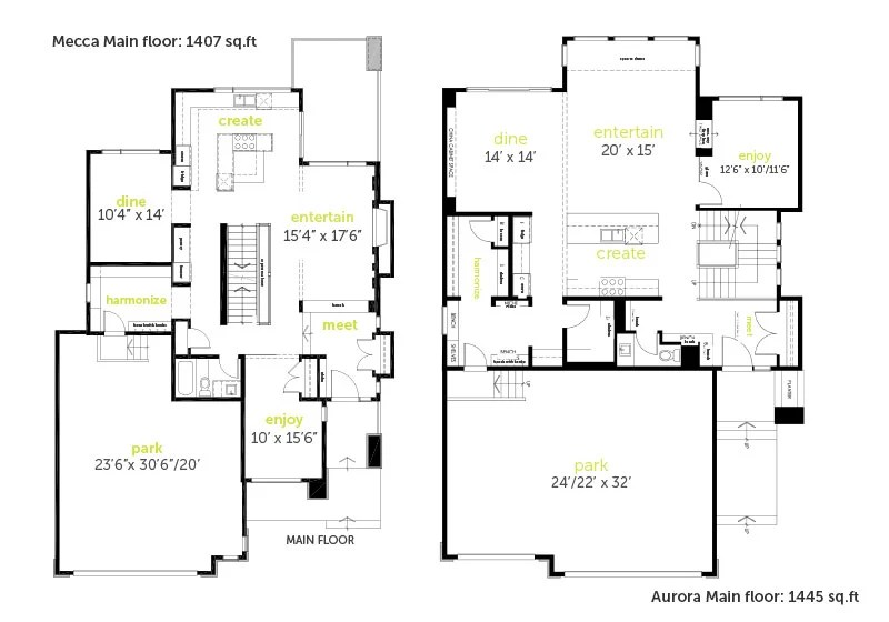 How to properly read floor plans and what details to look for.