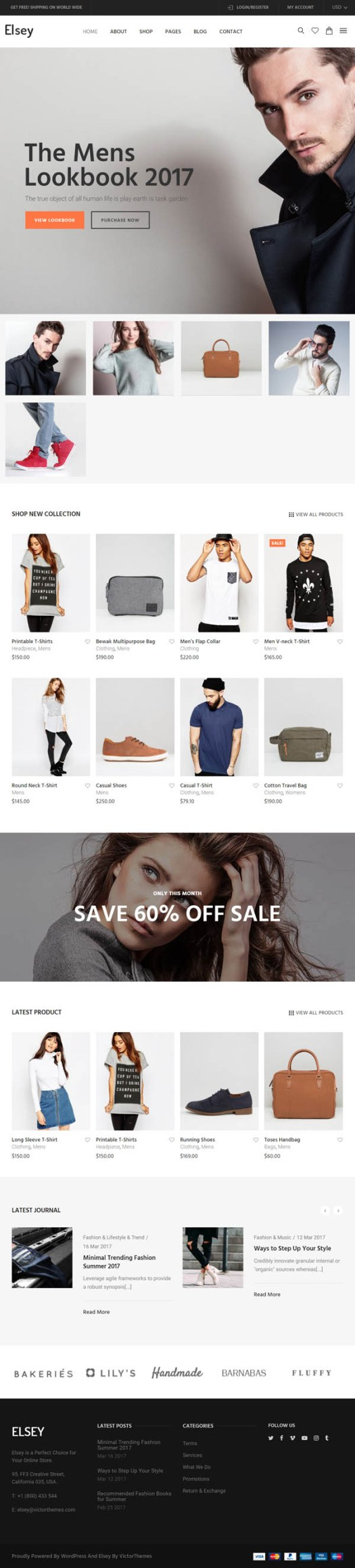 Elsey – Responsive eCommerce Theme