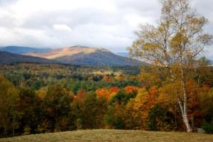 Fall colors near Rangeley, Maine.  Nathaniel Hammond photography.
