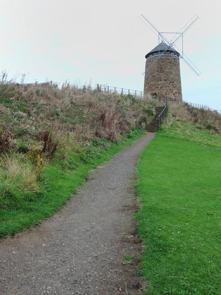 Mile 59 - St Monans Windmill, halfway to Newburgh. Sponsored by Dawn Carson, Kathleen and Robert Thorburn, Lorna and Ken Wilson, Colin Aimers, John Gaskell, Stina and Robert MacDonald and Ross Thorburn.
