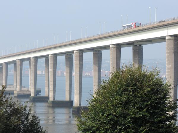Mile 98 - Tay Road Bridge. Sponsored by Richard Barker, Stephanie Kiel and Jim Hampson.