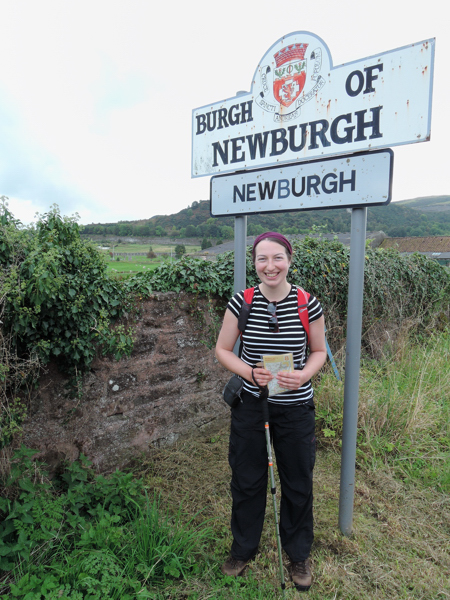Mile 116 Arriving in Newburgh (sponsored by Sam and Emily Hesling, Sophie Nioche and Dave Fletcher)