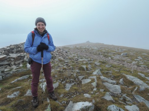 The summit of Ben Wyvis on my 31st birthday