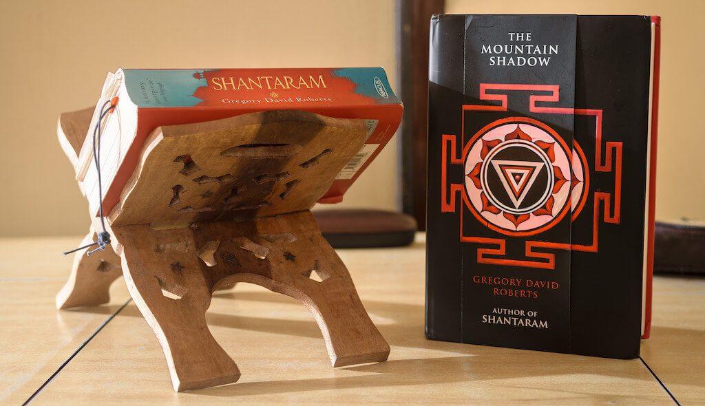 Shantaram books. Photo by Siddhesh Mangela.