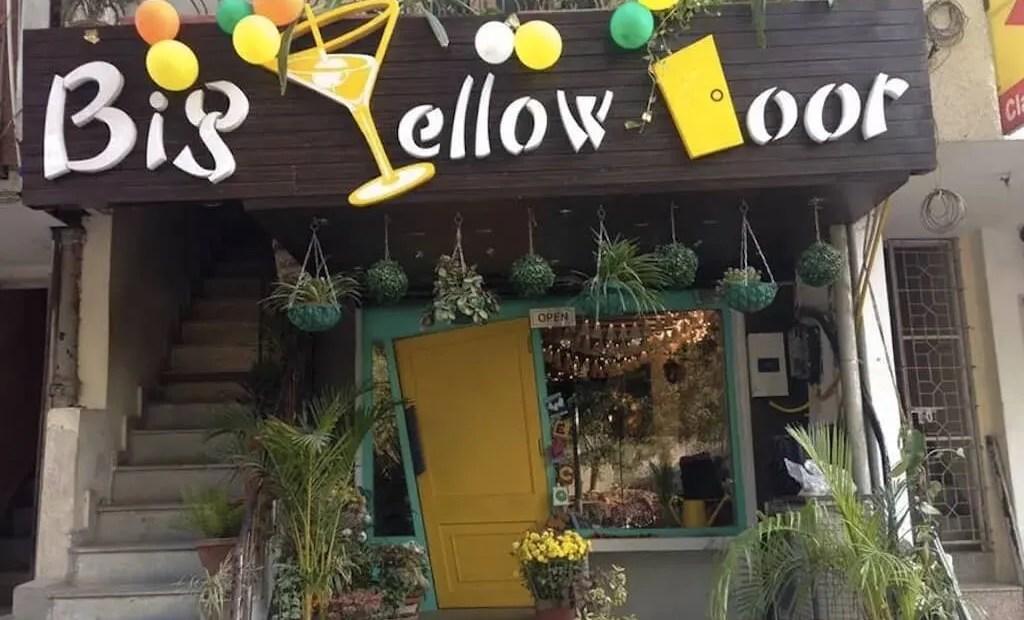 Big Yellow Door on Hudson Lane. Photo by Big Yellow Door.