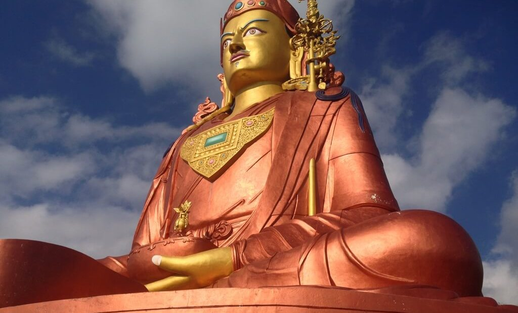 Buddha statue in Sikkim. Photo by Karl Rock.
