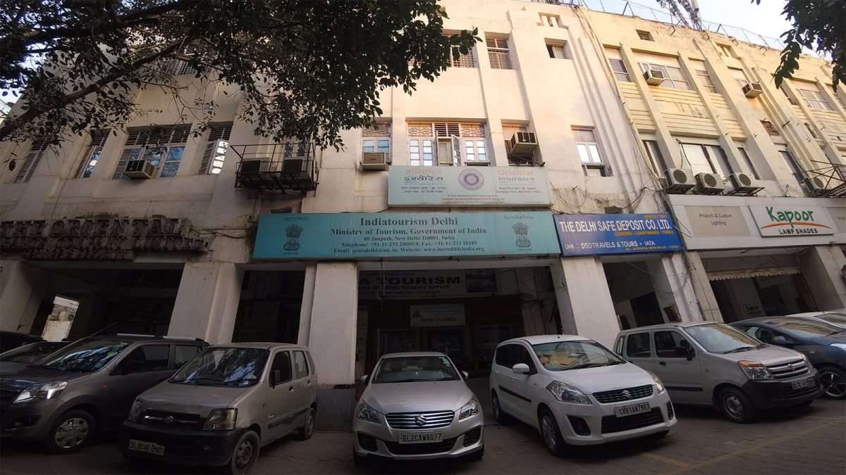 Location of the REAL Government IndiaTourism Office in New Delhi. Photo © Karl Rock.