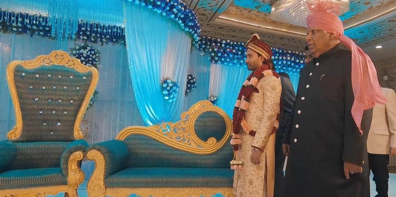 Behind the Scenes at a Muslim Wedding in India [Video]. Photo © Karl Rock.