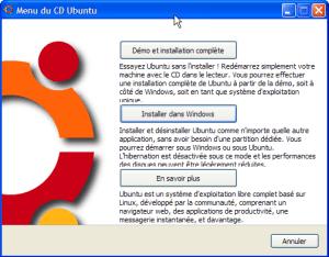 Autoexecution du CD Ubuntu Hardy Heron (8.04)