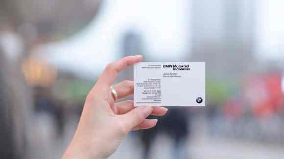 Contoh Kartu Nama Perusahaan BMW