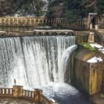 Один день в Абхазии: Псырцхинская ГЭС и заброшенная платформа в Новом Афоне