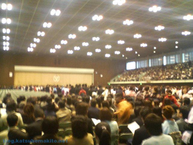 青学卒業式2007