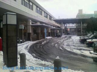 松江駅 2008 雪