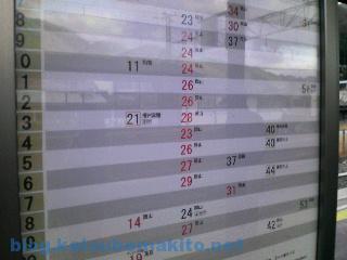 新見駅 時刻表 2008