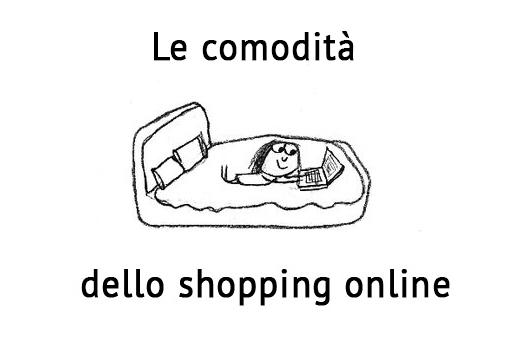 Le comodità dello shopping online