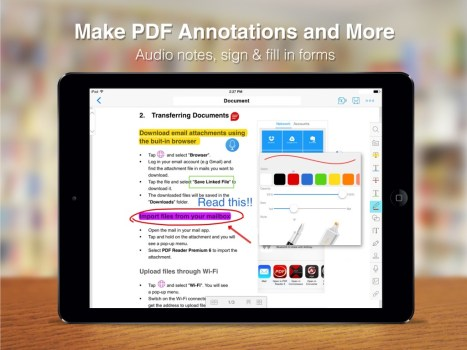 PDF Reader 6 Premium_Annotation