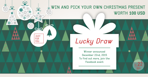 Christmas Lucky Draw JustForYou