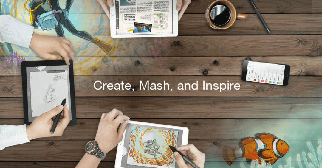Create, Mash, and Inspire