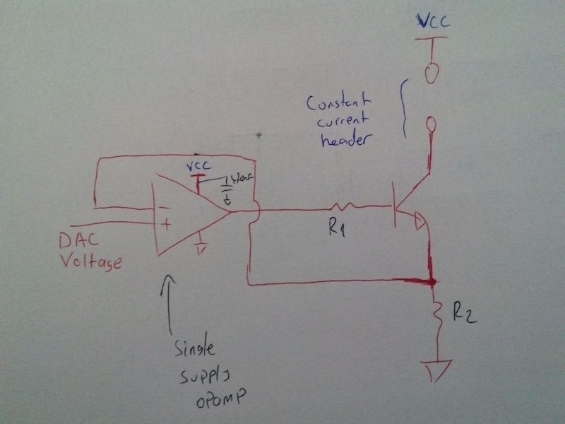 Low Cost Logarithmic Converter Using Opamp And Transistor