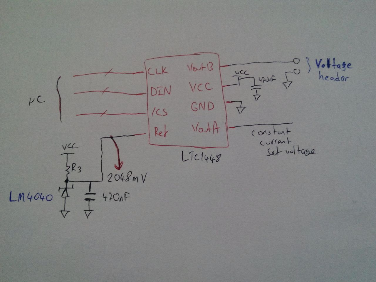 Adjustable Dc Voltage Current Source