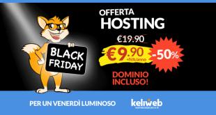 black friday offerta hosting