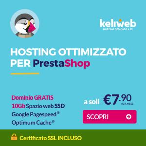 hosting prestashop ecommerce