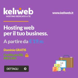 hosting web professionali
