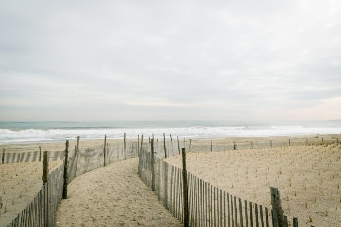 The beach at the Rockaways, by NYC photojournalist, Kelly Williams