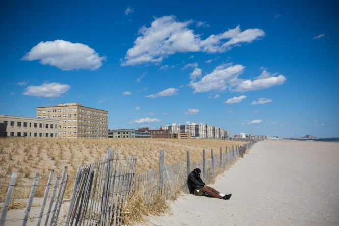 Far Rockaway beach in Queens