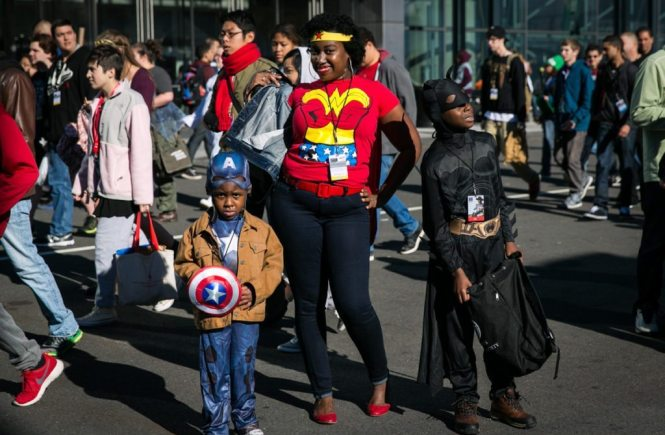 New York Comic Con by photographer Kelly Williams