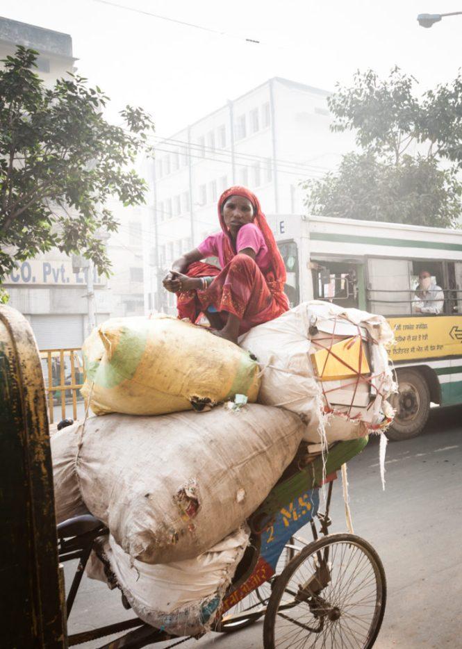 India street photography in Delhi