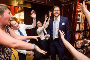 Dancing at a SoHo wedding