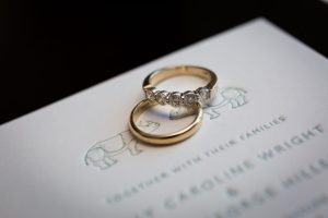 Rings for a Bronx Zoo wedding