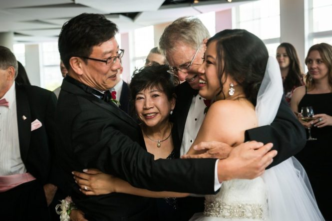 Parents at a Maritime Parc wedding