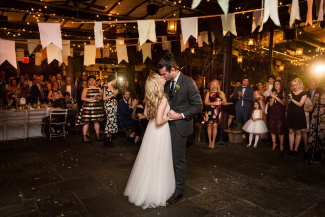First dance at at a Gallow Green wedding